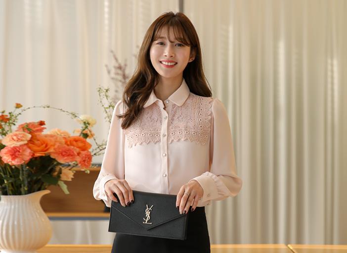 clicknfunny-[롤렌 레이스블라우스]♡韓國女裝上衣
