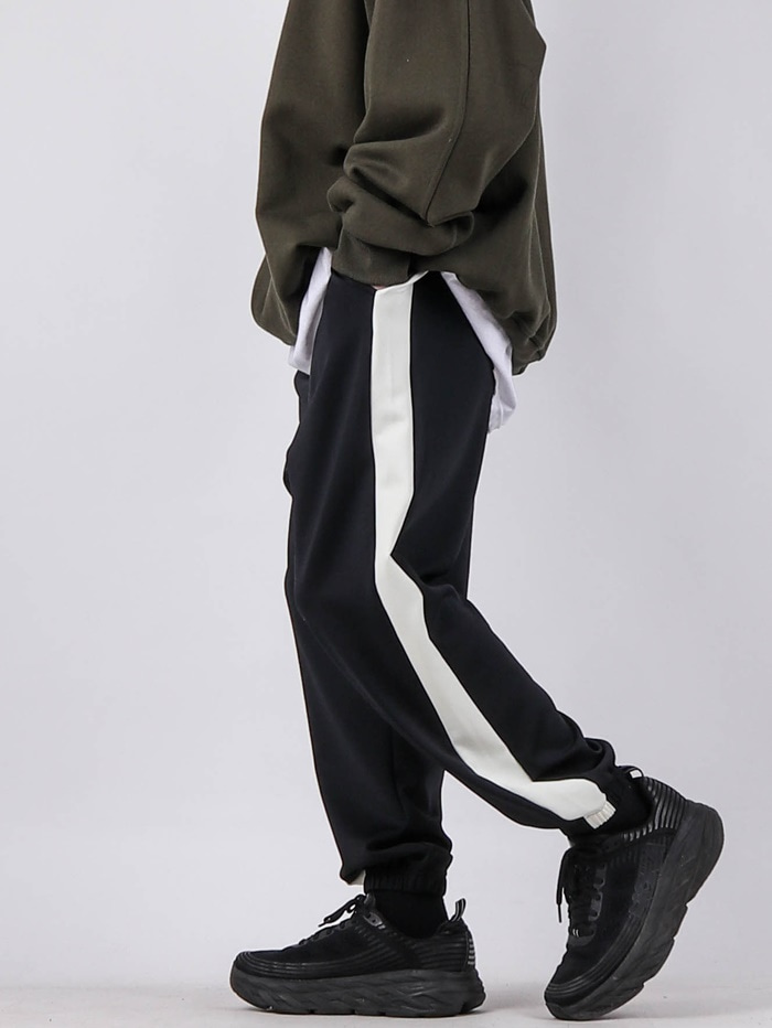 justyoung-NV Line Training Jogger Pants (2color)♡韓國男裝褲子