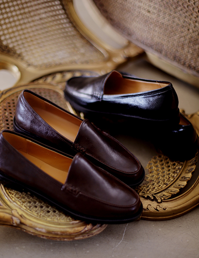 milkcocoa-1DayNew5%.Dandy Simple Loafer♡韓國女裝鞋