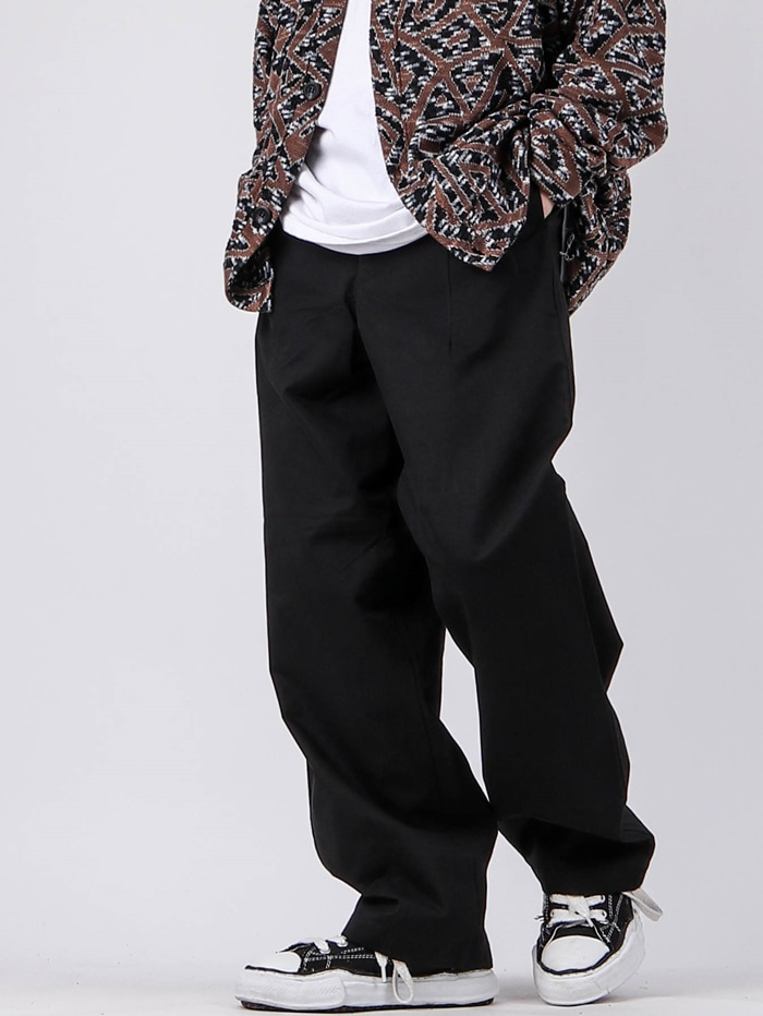 justyoung-NT Heavy Tuck Pants (2color)♡韓國男裝褲子