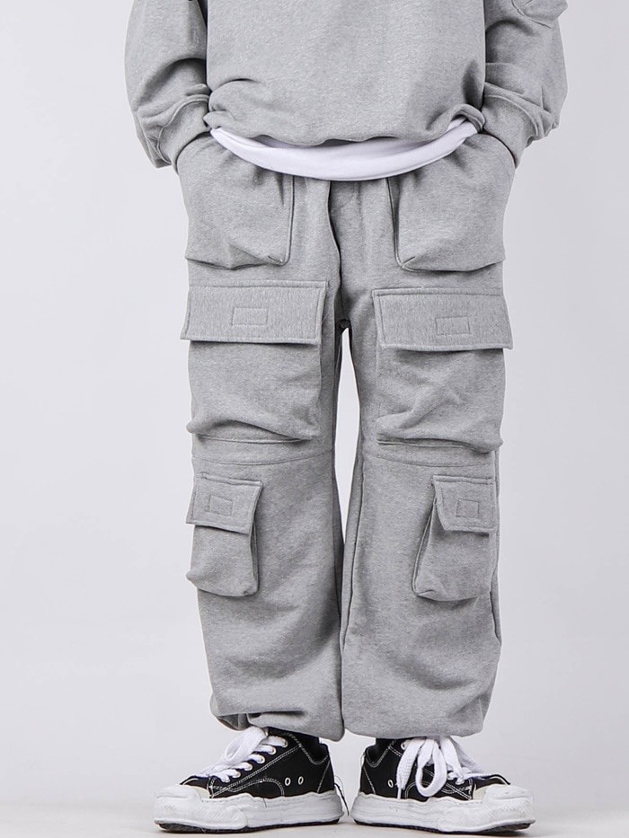 justyoung-GE Setup 3D Pocket Pants (2color)♡韓國男裝褲子