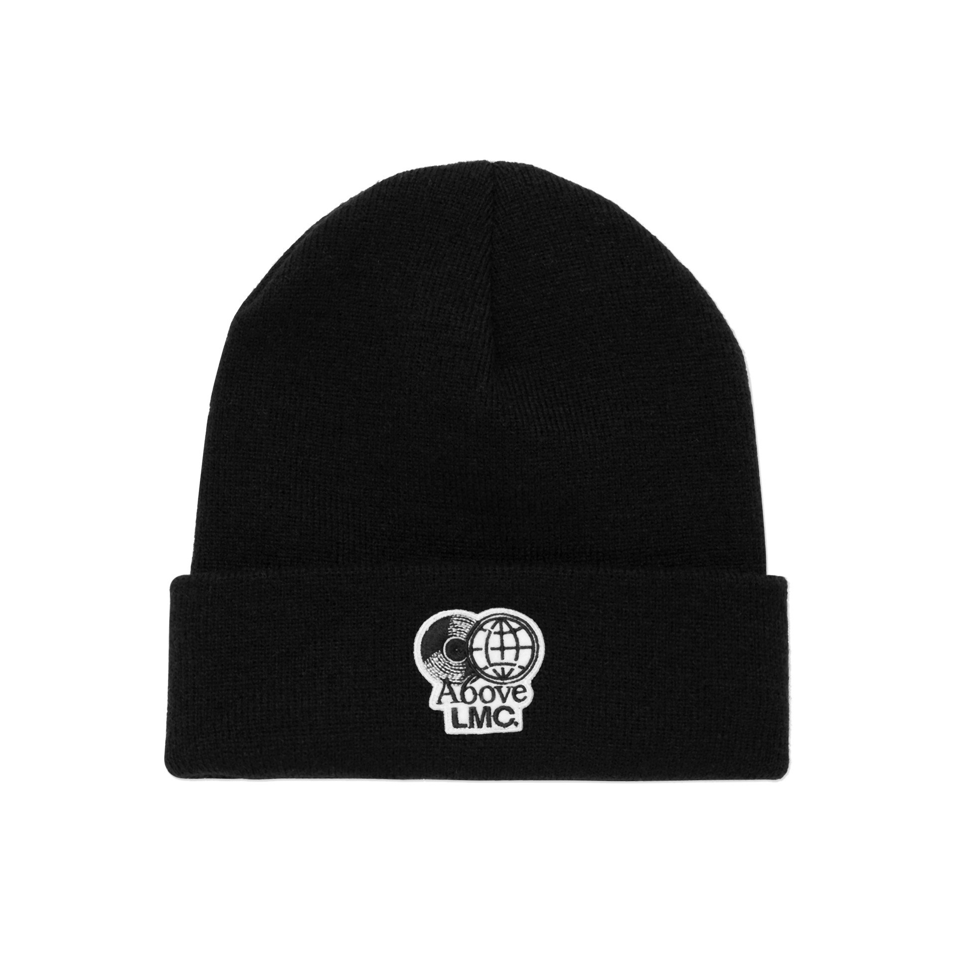 layer-LMC X A6OVE FRIENDSHIP MIX BEANIE black♡韓國男裝飾品