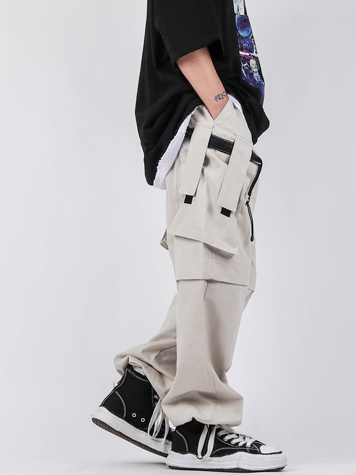 justyoung-MG Army Cargo Pants (2color)♡韓國男裝褲子