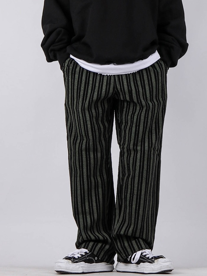 justyoung-IV Vertical Corduroy Pants (2color)♡韓國男裝褲子