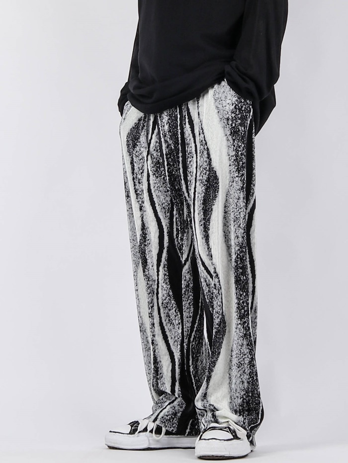 justyoung-GE Wavy Pleats Pants (3color)♡韓國男裝褲子