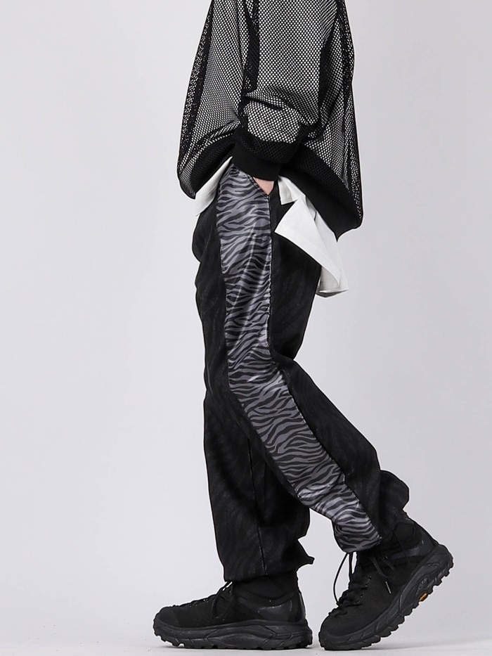 justyoung-GE Zebra Color Pants (2color)♡韓國男裝褲子