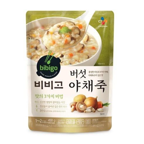 Bibigo비비고 蘑菇蔬菜即食粥 450g
