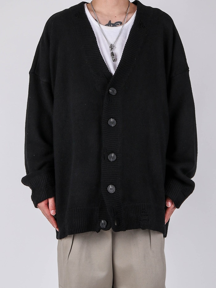 justyoung-SN Relief Cardigan (2color)♡韓國男裝上衣