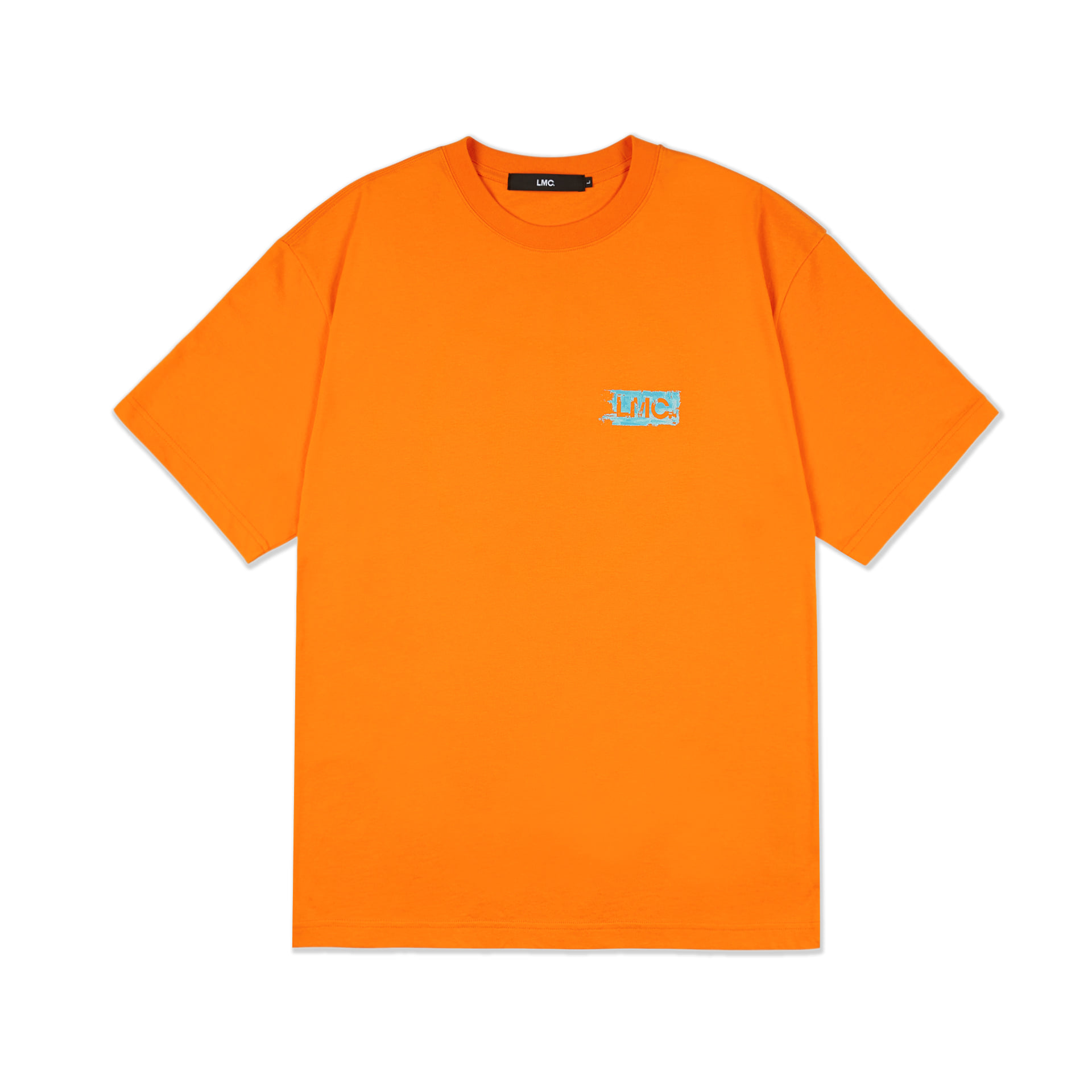 layer-LMC PAINT BRUSH TEE orange♡韓國男裝上衣