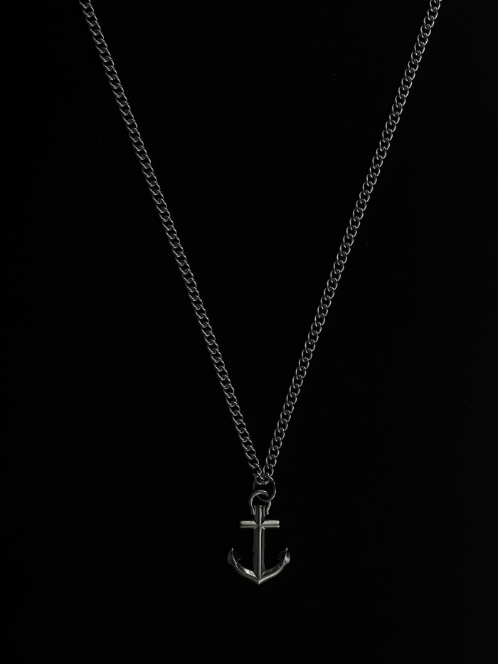justyoung-MB Anchor Necklace♡韓國男裝飾品