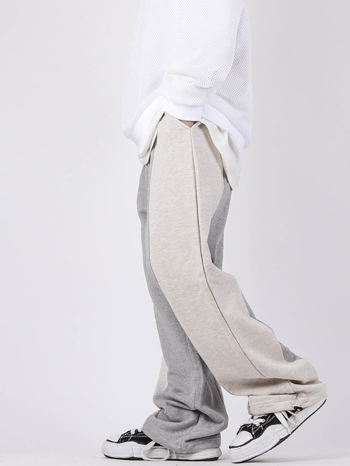 justyoung-SC Color Wide String Pants (2color)♡韓國男裝褲子
