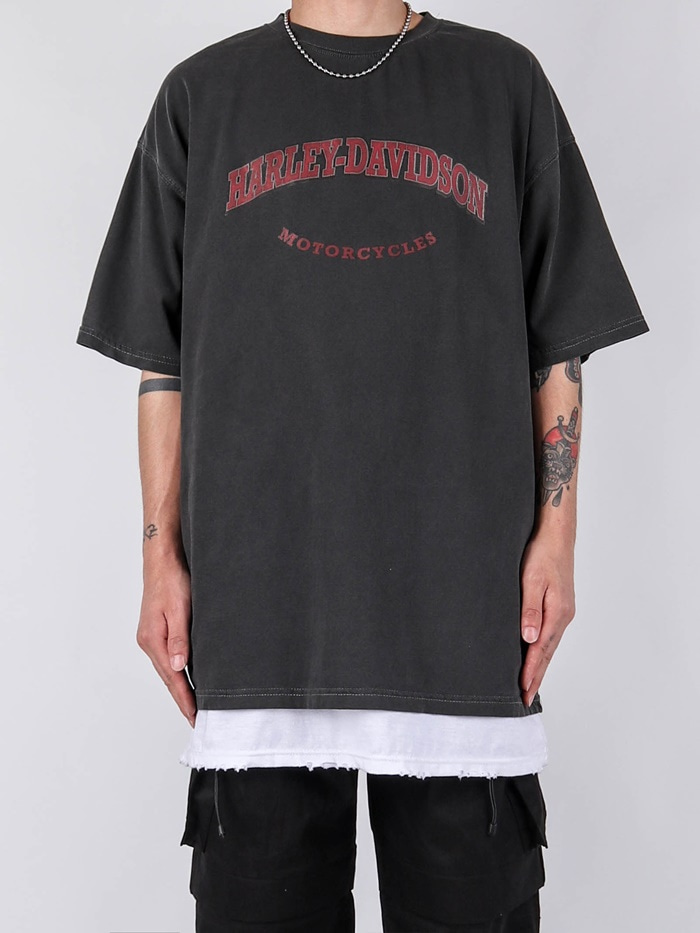 justyoung-FD Holiday Short Sleeve Tee (3color)♡韓國男裝上衣