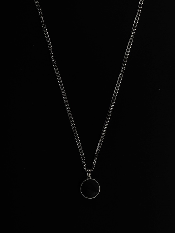 justyoung-MB Reversible Ring Necklace♡韓國男裝飾品