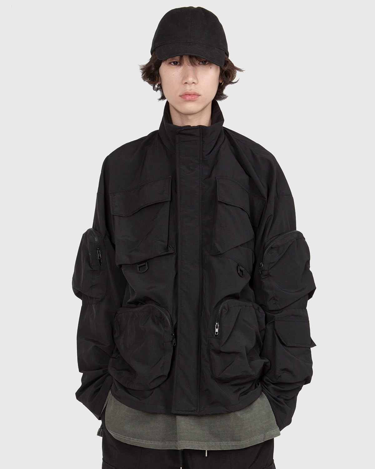 raucohouse-3D MULTI POCKET WINDBREAKER - RAUCO HOUSE♡韓國男裝外套