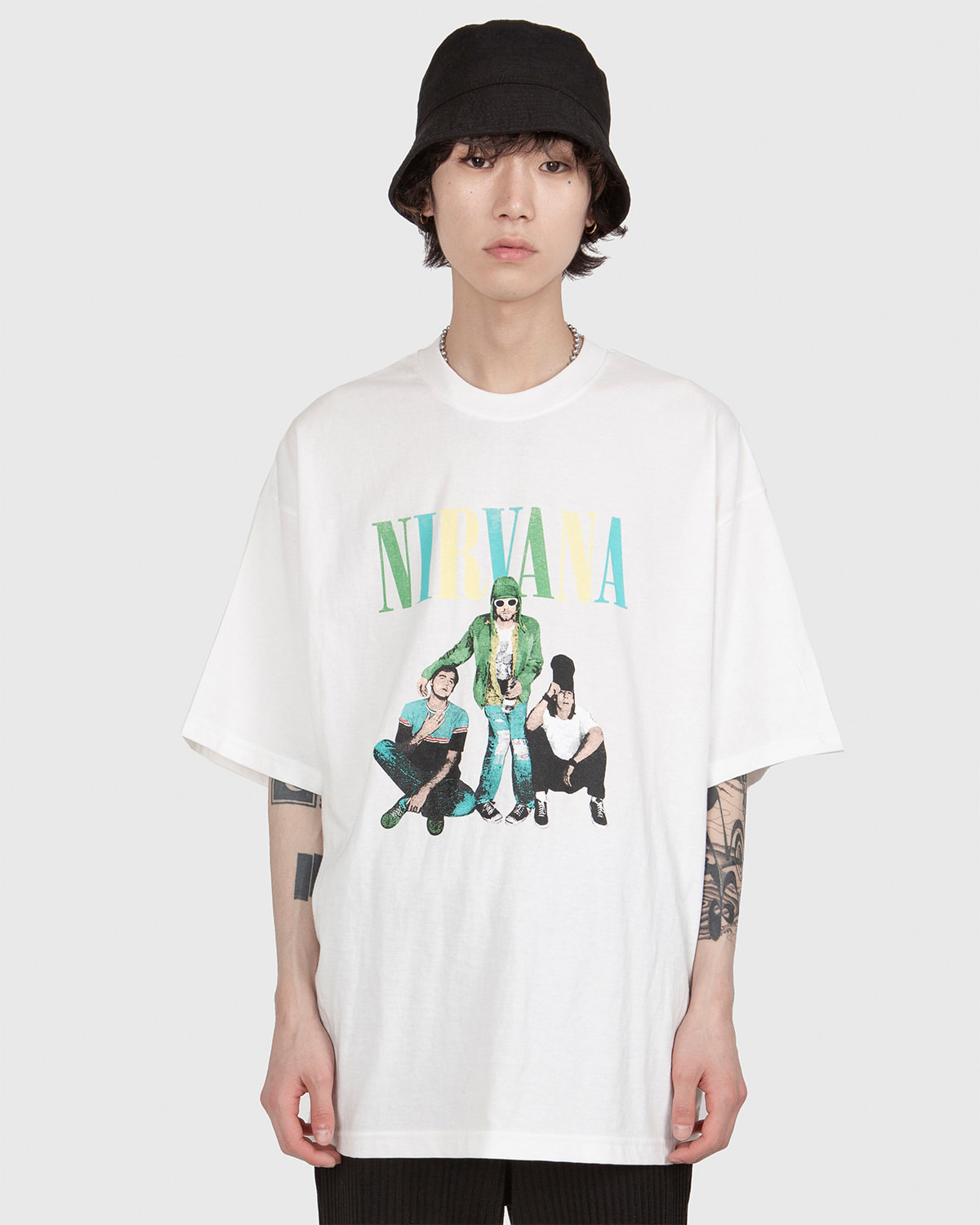 raucohouse-NIRVANA PEOPLE 1/2 T - RAUCO HOUSE♡韓國男裝上衣