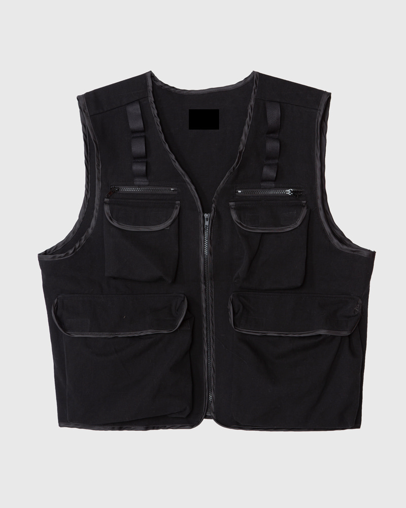 raucohouse-STS WORK MULTI POCKET VEST - RAUCO HOUSE♡韓國男裝上衣