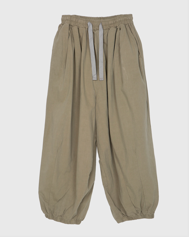 raucohouse-NATURAL BALLOON JOGGER PANTS - RAUCO HOUSE♡韓國男裝褲子