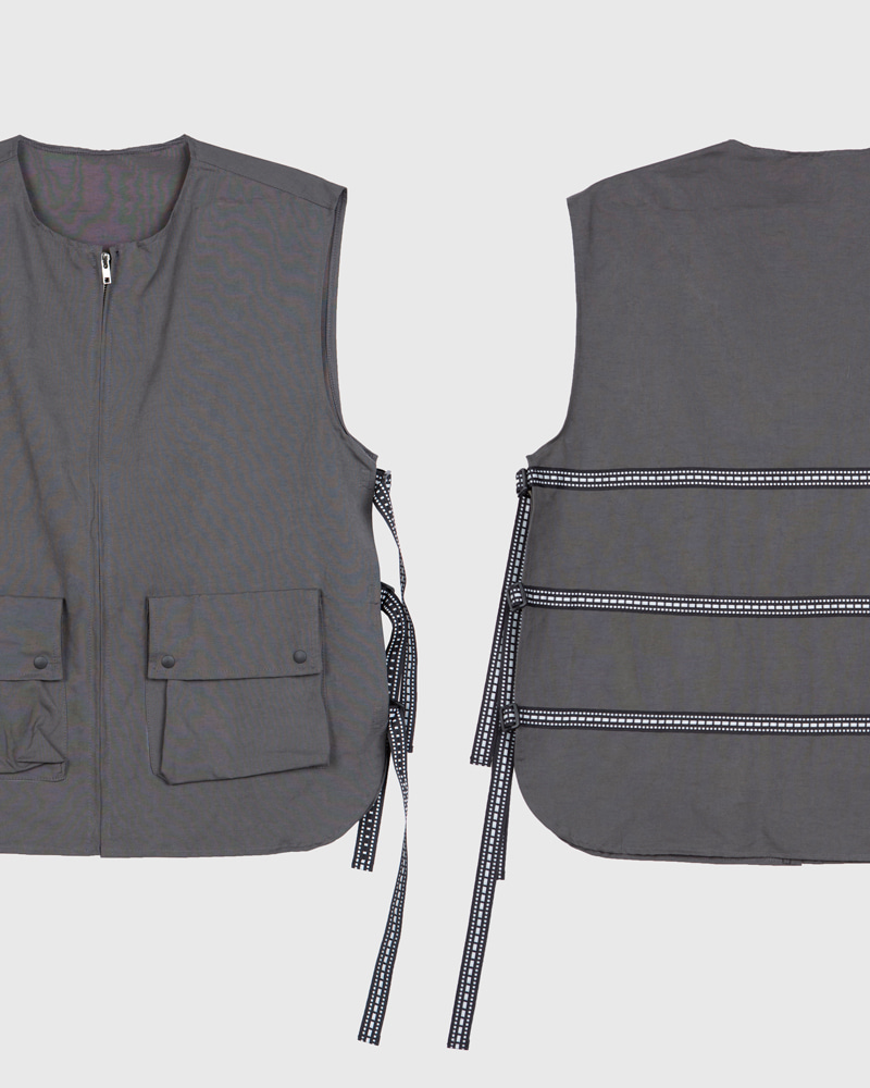 raucohouse-3M LINE SCOTCH VEST - RAUCO HOUSE♡韓國男裝上衣
