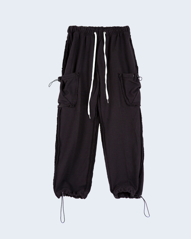 raucohouse-cargo heavy sweat pants - RAUCO HOUSE♡韓國男裝褲子