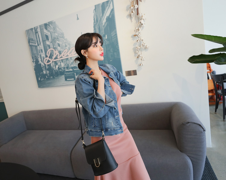 tomnrabbit-[헤짐데님자켓]♡韓國女裝外套