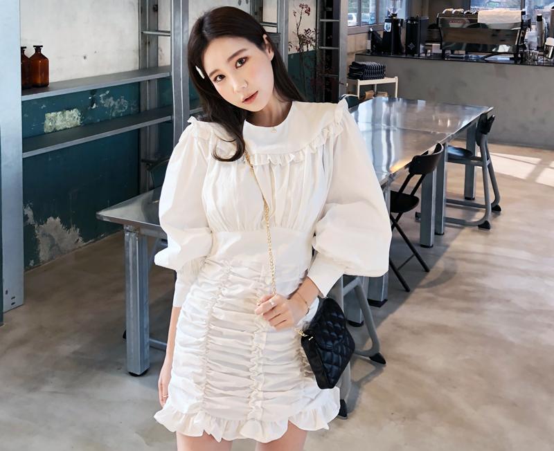 cherryville-[프릴레이디 원피스]♡韓國女裝連身裙