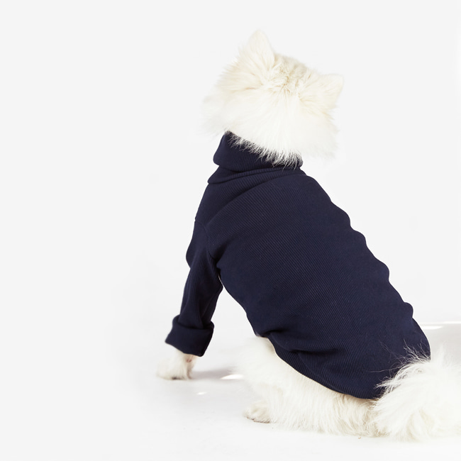 seoul-pet-BASIC MTM [NAVY]♡寵物衫