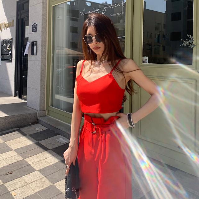 iampretty-[[3008]오늘보다 내일더 슬리브&하이웨스트 SET]♡韓國女裝套裝