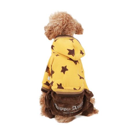 puppyangel-[OR163] Napped Daimaru (2컬러)♡寵物衫