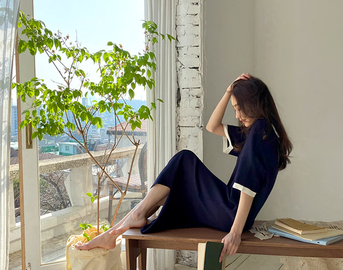 chichera-시크헤라 [루밍카라니트원피스]♡韓國女裝連身裙