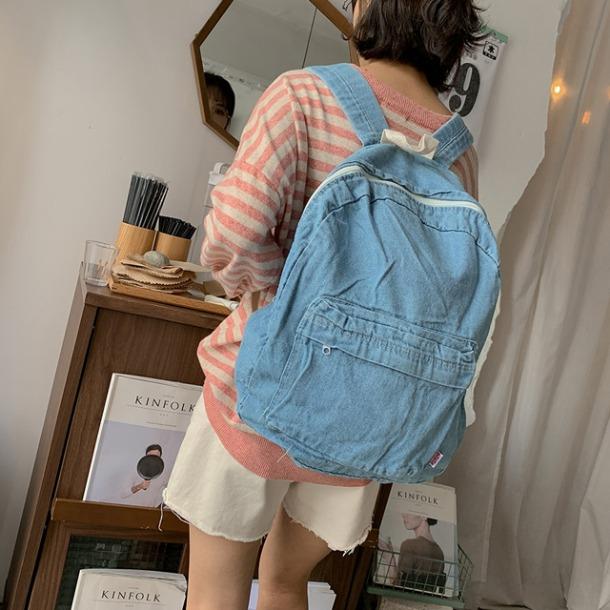 merongshop-블레드데님백팩♡韓國女裝袋