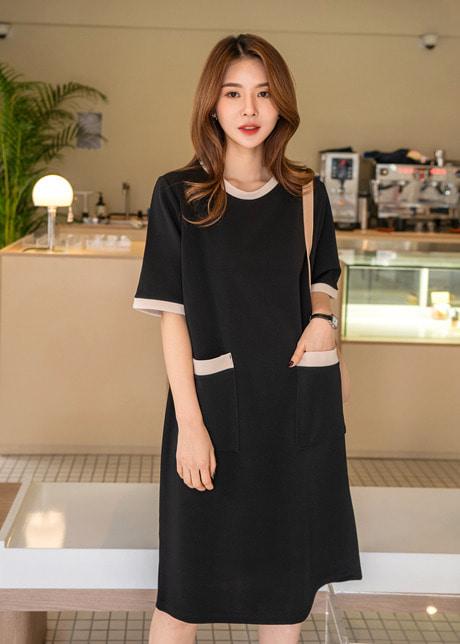 loloten-누누 포켓원피스♡韓國女裝連身裙