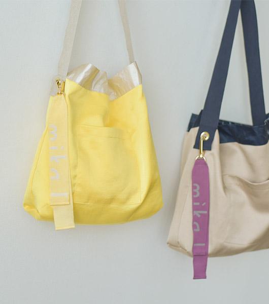 roompacker-룸페커 [바스락 투웨이 에코백]♡韓國女裝袋