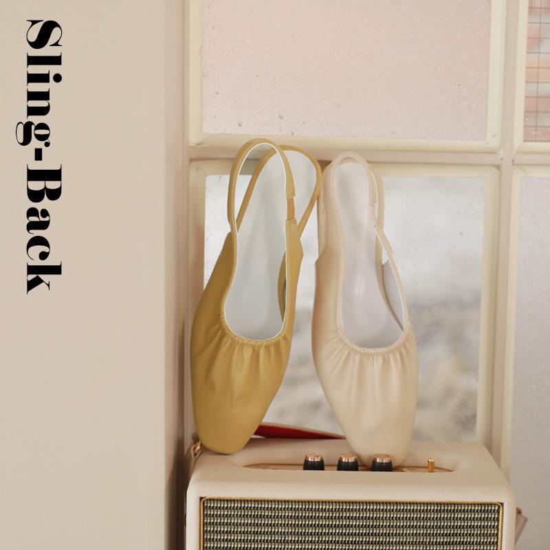 clicknfunny-[리베 셔링슬링백]♡韓國女裝鞋