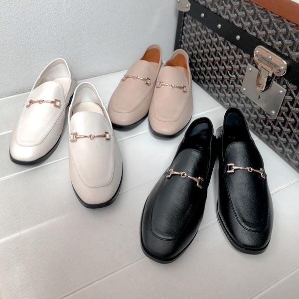 realcoco-소프트 버클 블로퍼♡韓國女裝鞋