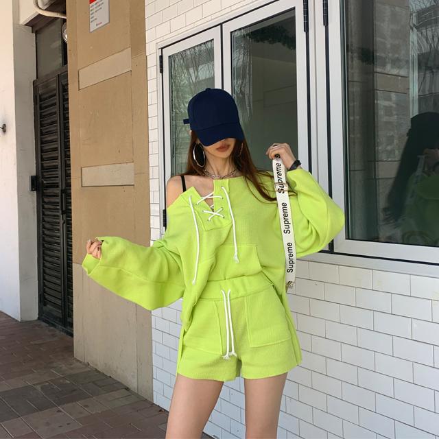 iampretty-[[9504]원해 오프언발 트레이닝SET]♡韓國女裝套裝