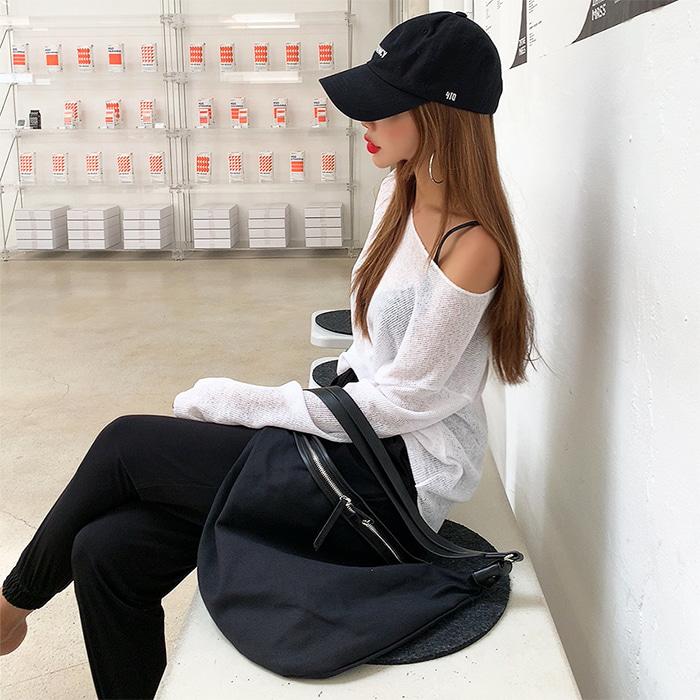 choper-반달크로스백♡韓國女裝袋