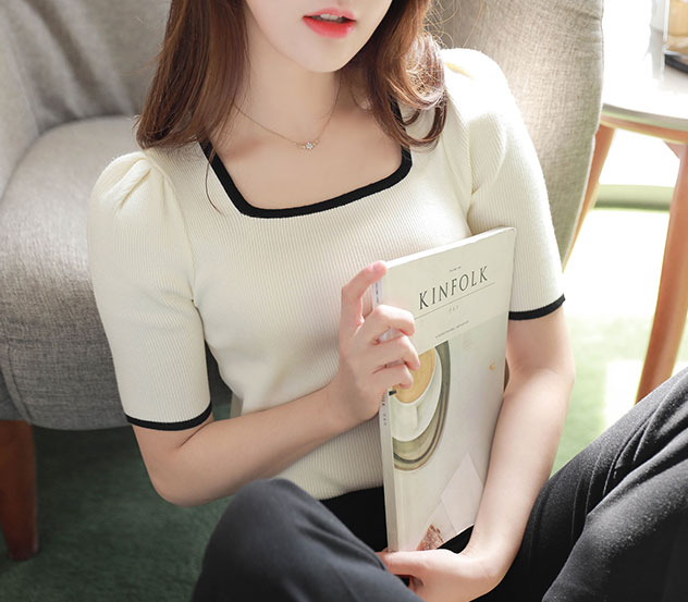 myfiona-팅커벨스퀘어*knit/a0051♡韓國女裝上衣