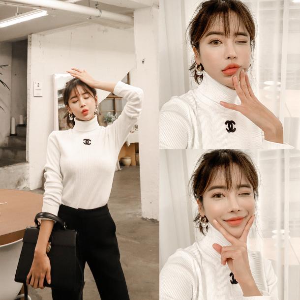 vivaruby-코인폴라 티♡韓國女裝上衣