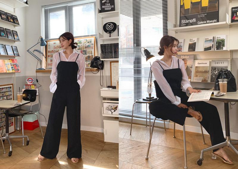 maybins-마리엔 점프수트♡韓國女裝褲