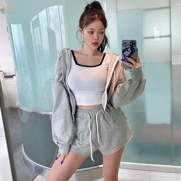 hypnotic-스쵸트레이닝 세트♡韓國女裝套裝