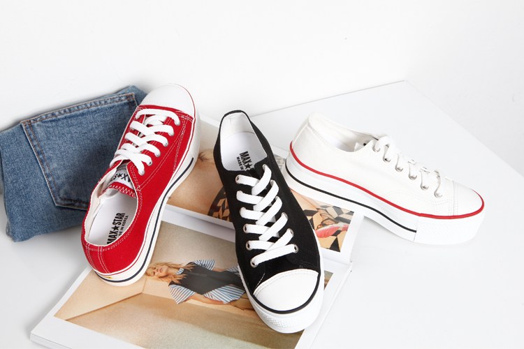iampretty-[[6005]캠퍼스 통굽 스니커즈]♡韓國女裝鞋