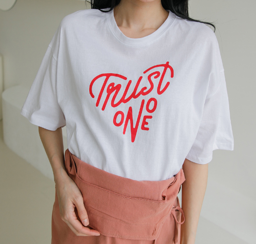 soim-[임부복*하트나염 반팔티셔츠]♡韓國孕婦裝上衣