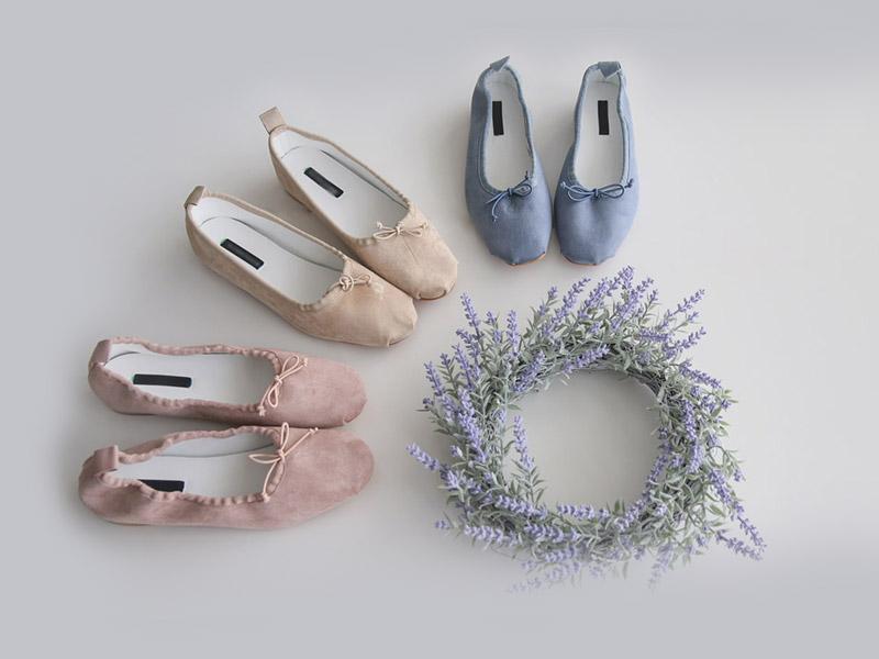 roompacker-룸페커 [렌디 파스텔 플랫슈즈]♡韓國女裝鞋