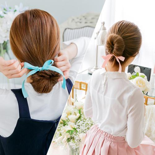 soo-soo-[레나크리스,헤어끈,당고올림머리밴드 (15H413) [9color]]♡韓國女裝飾品