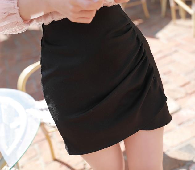 myfiona-셔링볼륨미니*skirt/a0074♡韓國女裝裙
