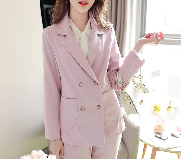 myfiona-베이직포켓*jacket/a0021♡韓國女裝外套