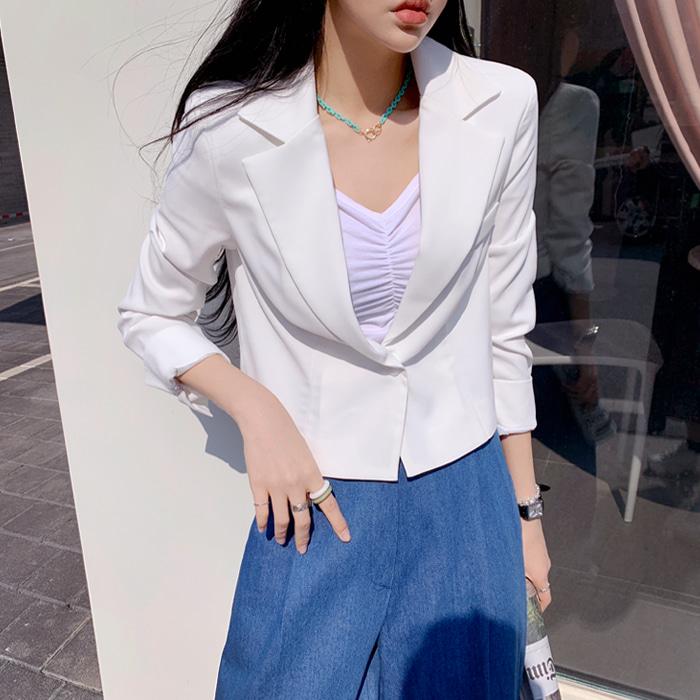 deepny-리븐크롭자켓 디프니♡韓國女裝外套