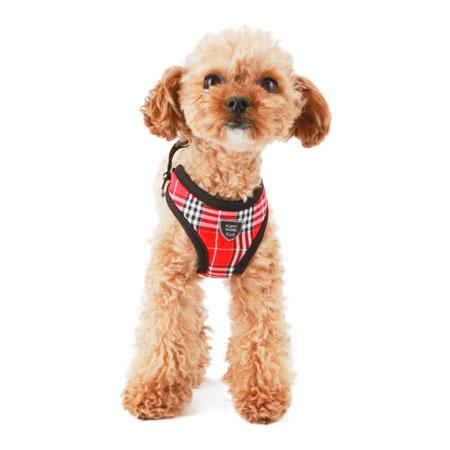 puppyangel-[HA048]퍼피엔젤 강아지하네스(#325레드)♡寵物散步帶用品
