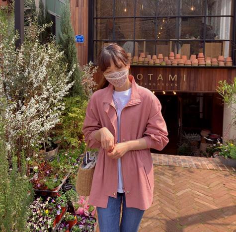 leelin-[홈즈꽃 코튼 마스크]♡韓國女裝飾品