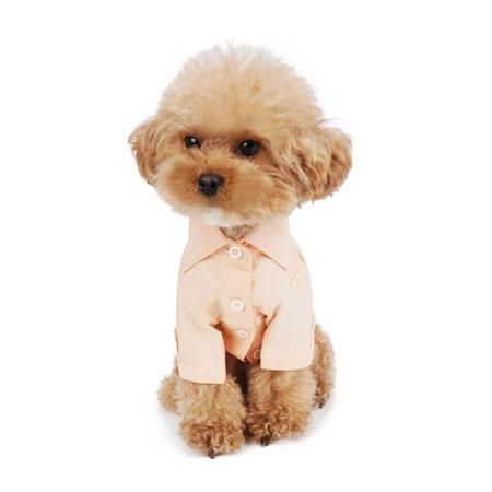 puppyangel-[TS628] 퍼피엔젤® 심플 롱셔츠 (2컬러)♡寵物衫